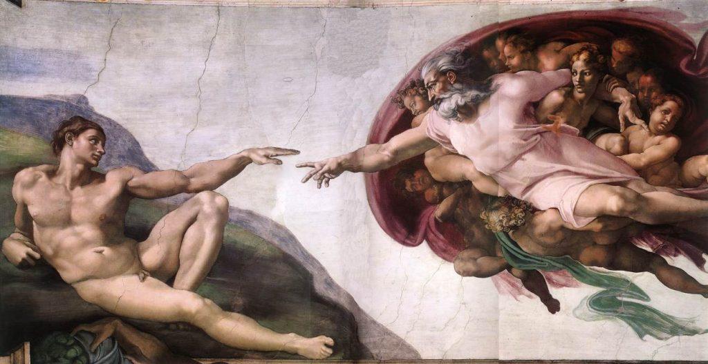 Michelangelo - La création du chifoumi